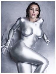 Celeb Kim K Nude Lipstick Pic